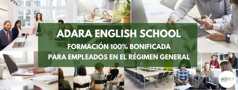 Formación Bonificada Empresas Adara English School