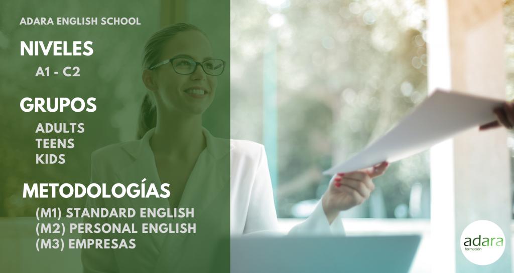 Niveles Grupos y Metodologías Adara English School